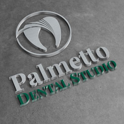 palmetto dental studio logo