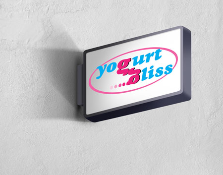 yogurt bliss store logo