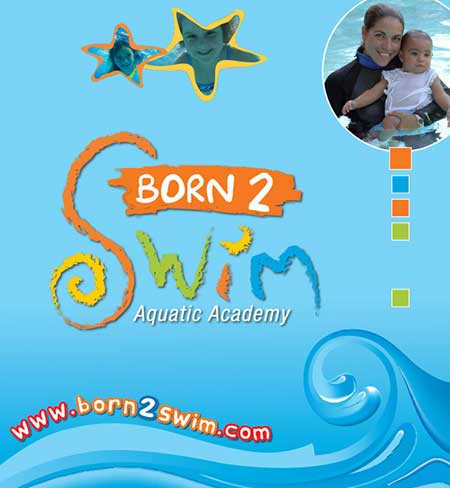 born 2 swim academy promotional items