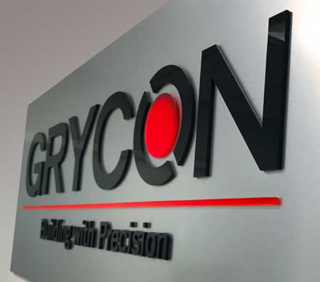 grycon office sign